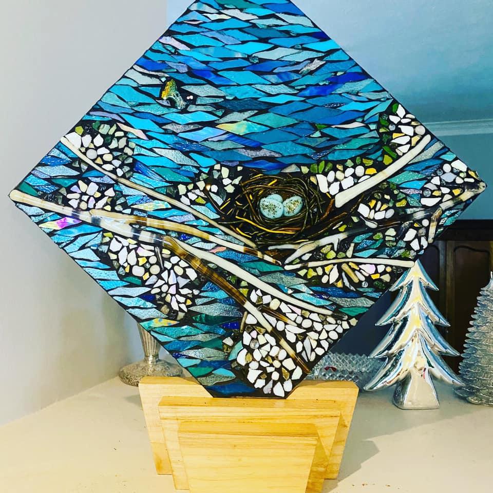Glass on Glass Mosaic Kits